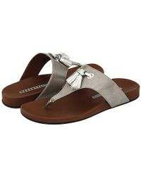Fratelli Rossetti | Metallic Leather Sandals | Lyst