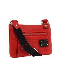 L.A.M.B. | Red Trademark Sophia - Mini Crossbody Bag | Lyst