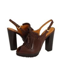 Ralph Lauren Collection | Brown Keala Shoe | Lyst