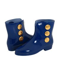 Vivienne Westwood | Blue Bootie Stud Ankle Boot | Lyst