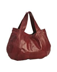 Beirn | Red Scarlet Snakeskin Erica East/west Tote | Lyst