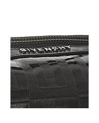 Givenchy - Black Vinyl Logo Print Small Boston Bag - Lyst