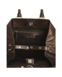 Givenchy - Brown Leather Large Buggatti Tote - Lyst