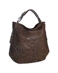 Givenchy | Brown Wrinkled Sheepskin Eden Pepe Hobo | Lyst