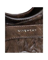 Givenchy | Brown Wrinkled Sheepskin Eden Pepe Hobo | Lyst