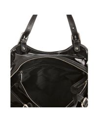 Tod's - Black Coated Canvas G-bag Easy Tote - Lyst