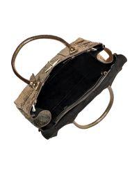 Mulberry | Metallic Bayswater Python Bag | Lyst