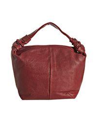 Furla - Red Cherry Leather Jasmine Medium Shoulder Bag - Lyst