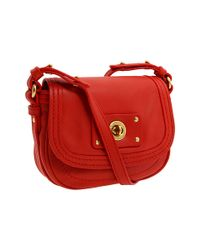Marc By Marc Jacobs | Red Totally Turnlock Bell Small Crossbody Bag | Lyst