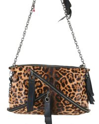 Christian Louboutin | Multicolor Trophe Medium Leopard Print Bag | Lyst