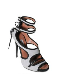 Tabitha Simmons | Gray Double Strap Pumps | Lyst