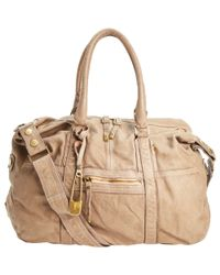 Sissi Rossi - Gray Washed Tote - Lyst
