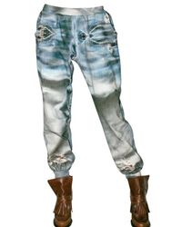 Tata Naka | Blue Fleece Sweat Pants/ Trousers | Lyst