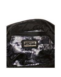 Junior Drake - Black Leather Studded Faren Bucket Bag - Lyst