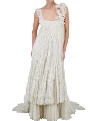 Anne Valerie Hash | White Limit.ed Lace Wedding Dress | Lyst