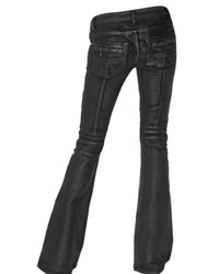 Balmain - Black Flared Jeans - Lyst