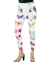 Basso & Brooke | Multicolor Printed Jersey Leggings | Lyst