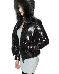 Duvetica | Black Adhara Fur Down Jacket | Lyst