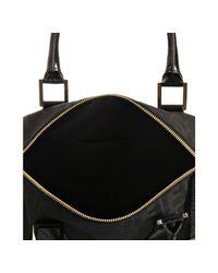 Fendi - Black Zucca Canvas Chef Top Handle Bag - Lyst