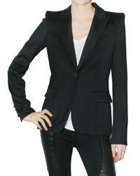 Givenchy | Black Knit Jacket | Lyst