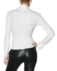 Givenchy - White Ruffle Shirt - Lyst