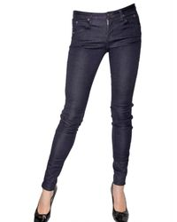 Kova & T | Blue Super Stretch Denim Leggings | Lyst