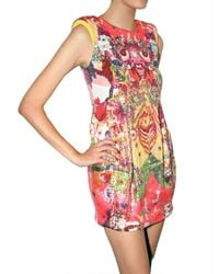 Manish Arora - Multicolor Psychedelic Sequin Dress - Lyst