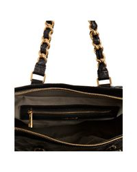 Marc Jacobs - Black Quilted Leather Anabela Chain Shoulder Bag - Lyst