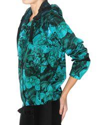 Moncler Gamme Rouge - Green Malachite Print Nylon Sport Jacket - Lyst