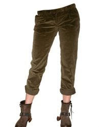 Novemb3r | Green Courdoroy Trousers | Lyst