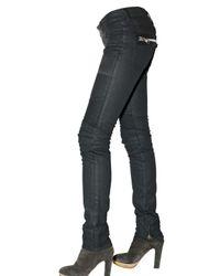 Rockstar - Black Stretch Denim American Flag Jeans - Lyst