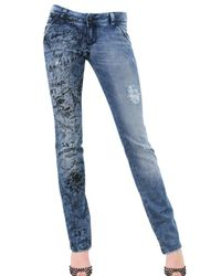 7 For All Mankind | Blue Limited Edition For Luisaviaroma Jeans | Lyst