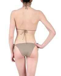 Vicedomini - Brown Sequin Bikini Bathing Suit - Lyst