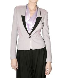 Viktor & Rolf | Purple Tulle Detail Suiting Jacket | Lyst