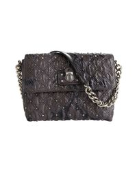 Marc Jacobs | Black The Single Quilted Python Bag | Lyst
