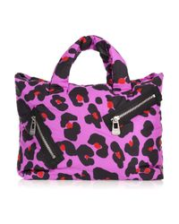 Sonia by Sonia Rykiel | Pink Leopard-print Nylon Bag | Lyst