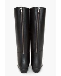 Loeffler Randall - Black Rain Boot - Lyst