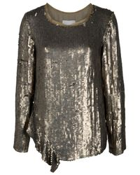 3.1 Phillip Lim | Metallic Sequin Top | Lyst