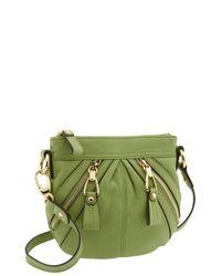 B. Makowsky | Green Kampala Zip Crossbody Bag | Lyst