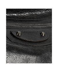 Balenciaga - Black Lambskin Classic Day Crossbody Bag - Lyst