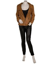 Doma Leather - Black Leather Pants - Lyst