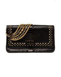 Eastland | Black Studded Python Bag | Lyst