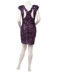 Eastland | Purple Sequin Embellished Mini Dress | Lyst