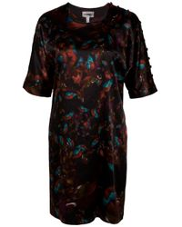 Erdem - Black Dulman Button Sleeve Shift Dress - Lyst