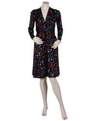 Issa - Multicolor Silk Jersey Wrap Dress - Lyst