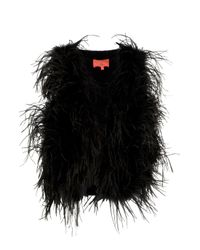 Manoush | Black Feather Bolero | Lyst
