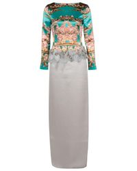 Mary Katrantzou | Multicolor Long Snuffbox Dress | Lyst