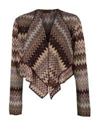 Missoni   Multicolor Fringed Metallic Crochet-knit Wrap   Lyst