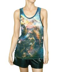 Christopher Kane | Multicolor Mystic Print Jersey Tank Top | Lyst