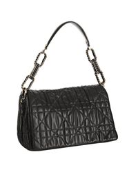 Dior | Black Quilted Lambskin Delices Handbag | Lyst